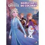 Regatul de gheata II. Marea carte de colorat - Disney