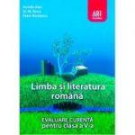 Evaluare curenta. Limba si literatura romana pentru clasa a V-a - Aurelia Ilian