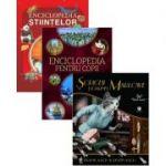 Pachet Enciclopedia pentru copii + Enciclopedia stiintelor + Soriceii doamnei Marlowe