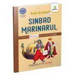 Sinbad marinarul. Carte cu abtibilduri pentru citit pe silabe - Nicolae Tonita
