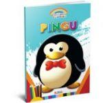 Gradinita Coloreaza. Pingu