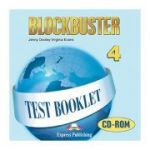 Curs limba engleza Blockbuster 4 CD-ROM teste - Jenny Dooley, Virginia Evans