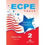 Curs Limba Engleza ECPE 2 Tests for the Michigan Proficiency, audio manual, set de 4 CD-uri - Virginia Evans