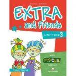 Curs limba Engleza Extra and Friends 3 Caietul elevului - Jenny Dooley, Virginia Evans