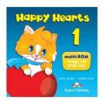 Curs limba engleza Happy Hearts 1 Multi-ROM - Jenny Dooley, Virginia Evans