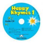 Curs limba engleza Happy Rhymes 1 Audio CD - Jenny Dooley, Virginia Evans