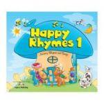 Curs limba engleza Happy Rhymes 1 Carte uriasa - Jenny Dooley, Virginia Evans