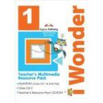 Curs limba engleza IWonder 1 Material multimedia pentru Profesori set 3 - Jenny Dooley, Bob Obee