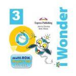 Curs limba engleza iWonder 3 Multi-ROM - Jenny Dooley, Bob Obee