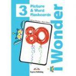 Curs limba engleza iWonder 3 Picture si Word Flashcards - Jenny Dooley, Bob Obee