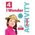 Curs limba engleza iWonder 4 Caiet cu Digibook App - Jenny Dooley, Bob Obee