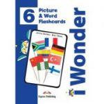 Curs limba engleza iWonder 6 Picture si Word Flashcards - Jenny Dooley, Bob Obee