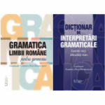 Pachet Gramatica limbii romane si Dictionar de interpretari gramaticale, Coordonator Gabriela Pana Dindelegan