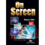 Curs limba engleza On Screen B2+ Audio Set 4 CD - Virginia Evans, Jenny Dooley