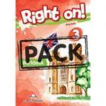 Curs limba engleza Right On 3 Caiet cu Digibook App - Jenny Dooley