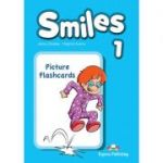 Curs Limba Engleza Smiles 1 Picture Flashcards - Jenny Dooley, Virginia Evans