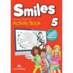 Curs limba engleza Smiles 5 Caiet - Jenny Dooley, Virginia Evans