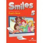 Curs limba engleza Smiles 5 Manual - Jenny Dooley, Virginia Evans