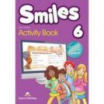 Curs limba engleza Smiles 6 Caiet - Jenny Dooley, Virginia Evans