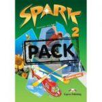 Curs limba engleza Spark 2 Monstertrackers Pachetul elevului - Virginia Evans, Jenny Dooley