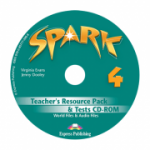 Curs limba engleza Spark 4 Monstertrackers Material aditional pentru profesor si teste CD - Virginia Evans, Jenny Dooley