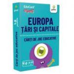 Europa. Tari si capitale. EduCard expert. Carti de joc educative