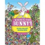 Where's the Bunny? An Egg-cellent Search Book - Chuck Whelon, Helen Brown