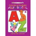 Coloram si invatam alfabetul - Colectia Sa coloram cu Nicol