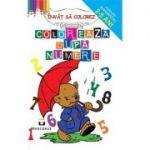 Coloreaza dupa numere - Colectia Super pitici 2-5 ani
