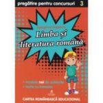 Culegere de pregatire pentru concursuri scolare, Limba si literatura Romana, Clasa a III-a - Georgiana Gogoescu