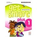 Get Smart Plus 1 Workbook + CD-ROM British Edition - H. Q. Mitchell, Marileni Malkogianni