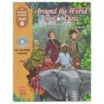 Primary Readers - Around the World in 80 Days level 6 with CD - H. Q. Mitchell, Marileni Malkogianni