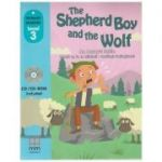 Primary Readers - The Shepherd Boy and the Wolf - Level 3 reader with CD - H. Q. Mitchell, Marileni Malkogianni