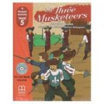 Primary Readers - The Three Musketeers - level 5 with CD - H. Q. Mitchell, Marileni Malkogianni
