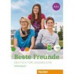 Beste Freunde A2-1, Arbeitsbuch mit audio - Manuela Georgiakaki, Christiane Seuthe, Anja Schümann