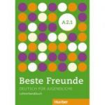 Beste Freunde A2/1 Lehrerhandbuch Deutsch fur Jugendliche - Gerassimos Tsigantes, Persephone Spiridonidou