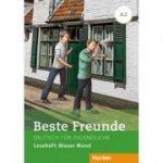 Beste Freunde A2 Leseheft. Blauer Mond - Annette Vosswinkel