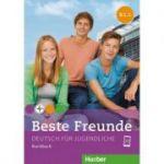 Beste Freunde B1. 1 Kursbuch - Manuela Georgiakaki, Elisabeth Graf-Riemann, Anja Schümann, Christiane Seuthe