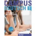 Campus Deutsch Horen und Mitschreiben Kursbuch mit mp3-CD - Marco Raindl, Dr. Oliver Bayerlein
