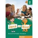 Jana und Dino 2 Kursbuch Deutsch fur Kinder - Manuela Georgiakaki, Michael Priesteroth