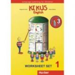 KIKUS Englisch Worksheet Set 1 Language Learning for Children - Edgardis Garlin, Stefan Merkle