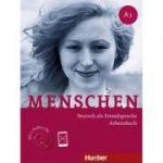 Menschen A1 Arbeitsbuch mit 2 Audio-CDs - Sabine Glas-Peters, Angela Pude, Monika Reimann