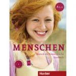 Menschen A1. 1 Kursbuch mit DVD-ROM - Franz Specht, Sandra Evans, Angela Pude