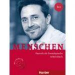 Menschen A2 Arbeitsbuch mit 2 Audio-CDs - Anna Breitsameter, Sabine Glas-Peters, Angela Pude