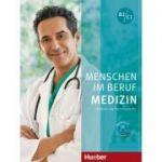 Menschen im Beruf Medizin Kursbuch mit mp3-CD - Dorothee Thommes, Alfred Schmidt