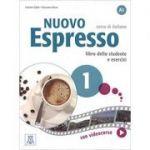 Nuovo Espresso 1 (libro + DVD)/Expres nou 1 (carte + DVD). Curs de italiana A1. Carte si exercitii pentru elevi - Luciana Ziglio, Giovanna Rizzo