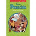 Pinocchio. Poveste cu pictograme. Nivelul 1