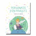 Personaje din povesti - carte de colorat