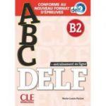 ABC DELF, Niveau B2. Entrainement en ligne. Conforme au nouveau format d'epreuves - Marie-Louise Parizet