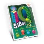 Marea carte de colorat - IQ start 4+ (cu 70 de autocolante)